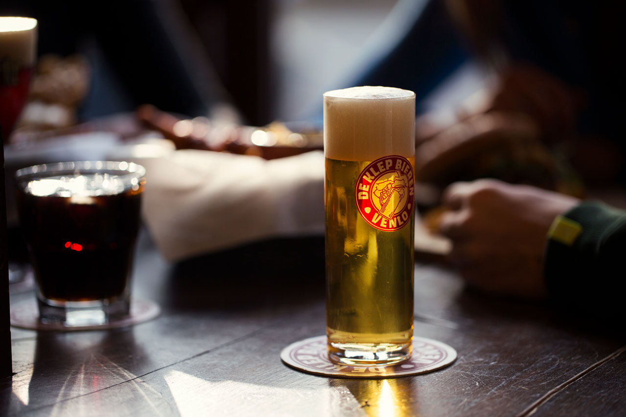Café de Klep: probeer ons eigen bier!